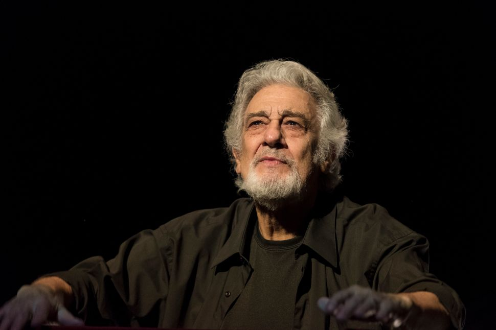 Star Tenor Plácido Domingo Accused of Sexual Harassment by Nine Women