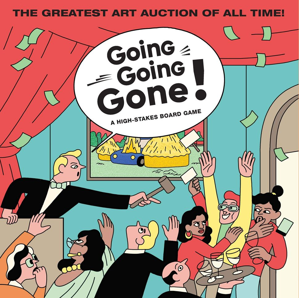 New 'Going, Going, Gone!' Board Game Lets Players Pretend to Be Millionaire Art Collectors