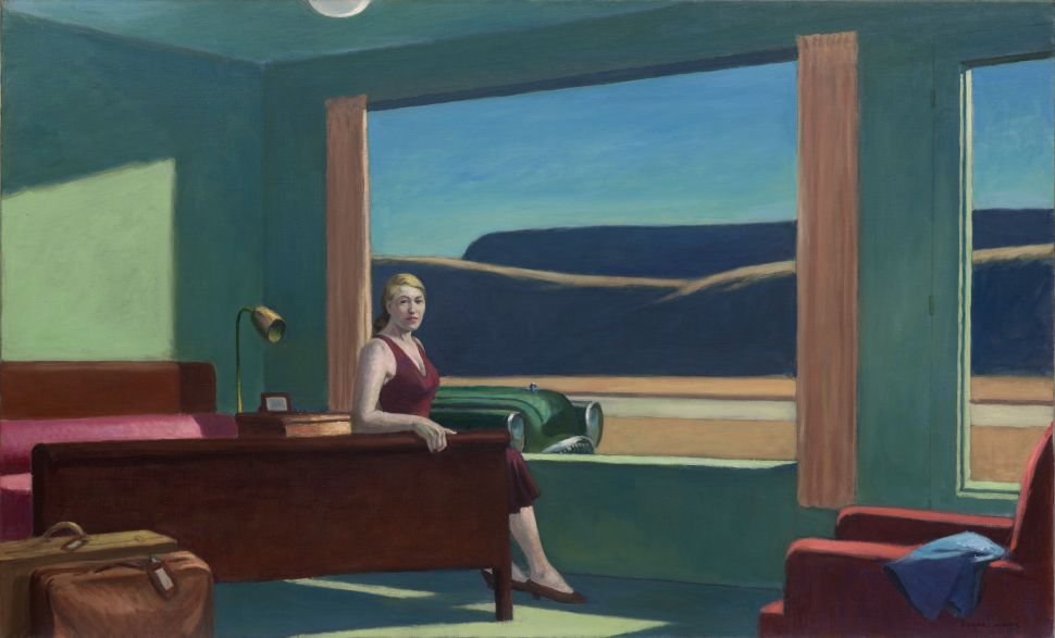 Stay Overnight in Edward Hopper's 'Western Motel' Painting Recreated at a Museum