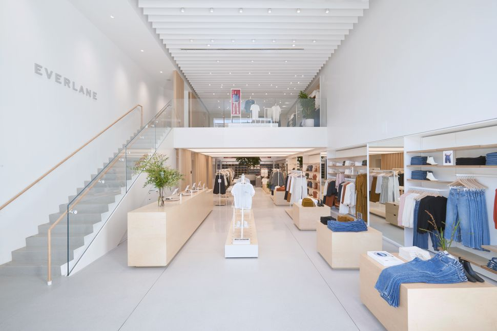 Everlane's New Brooklyn Store Features High-Tech Design Details
