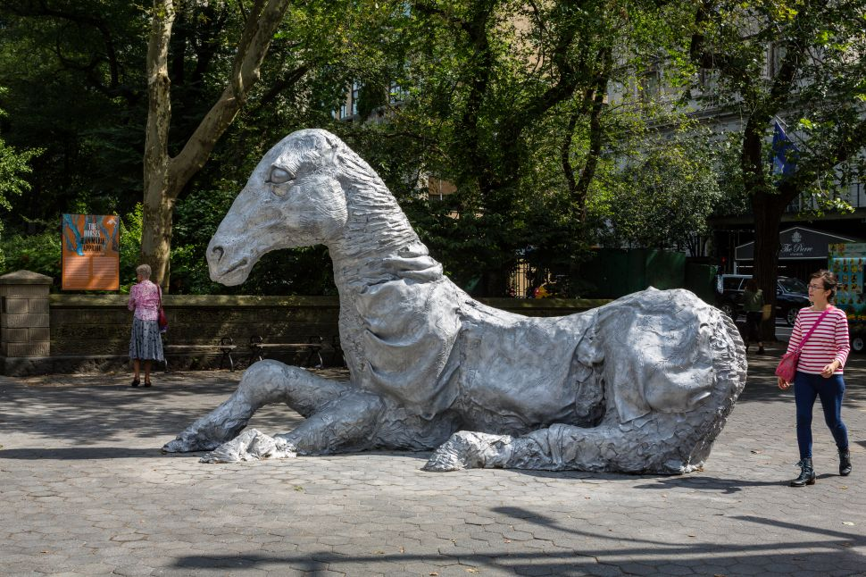 Hold Your Horses: The Artist and Curator Behind Central Park's Equine Statues Reveal Their Intention