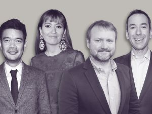 TIFF Rian Johnson Marielle Heller Destin Daniel Cretton Andy Greenwald