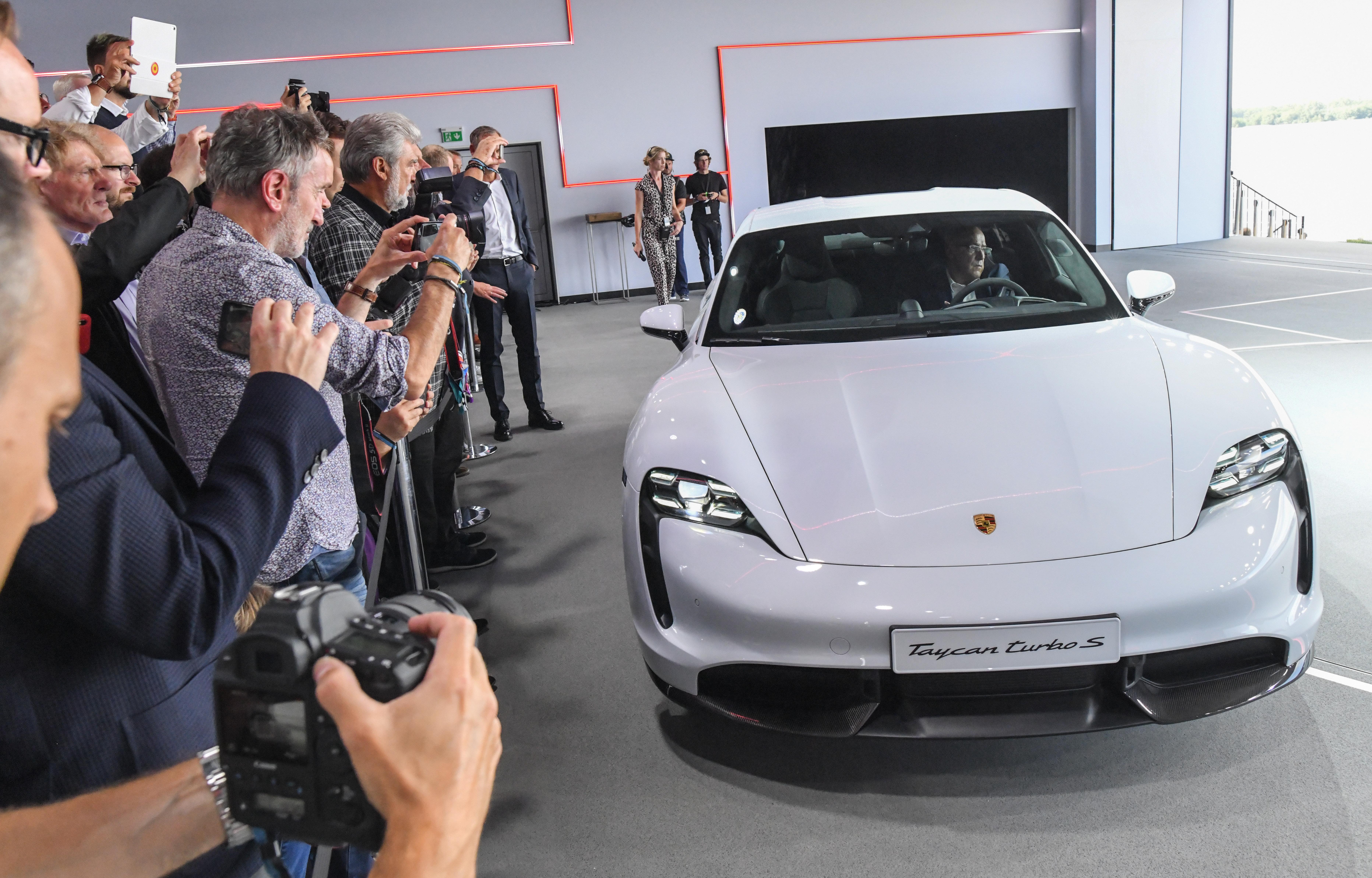 Porsche Unveils First Electric Car Taycan, Declares War on ...