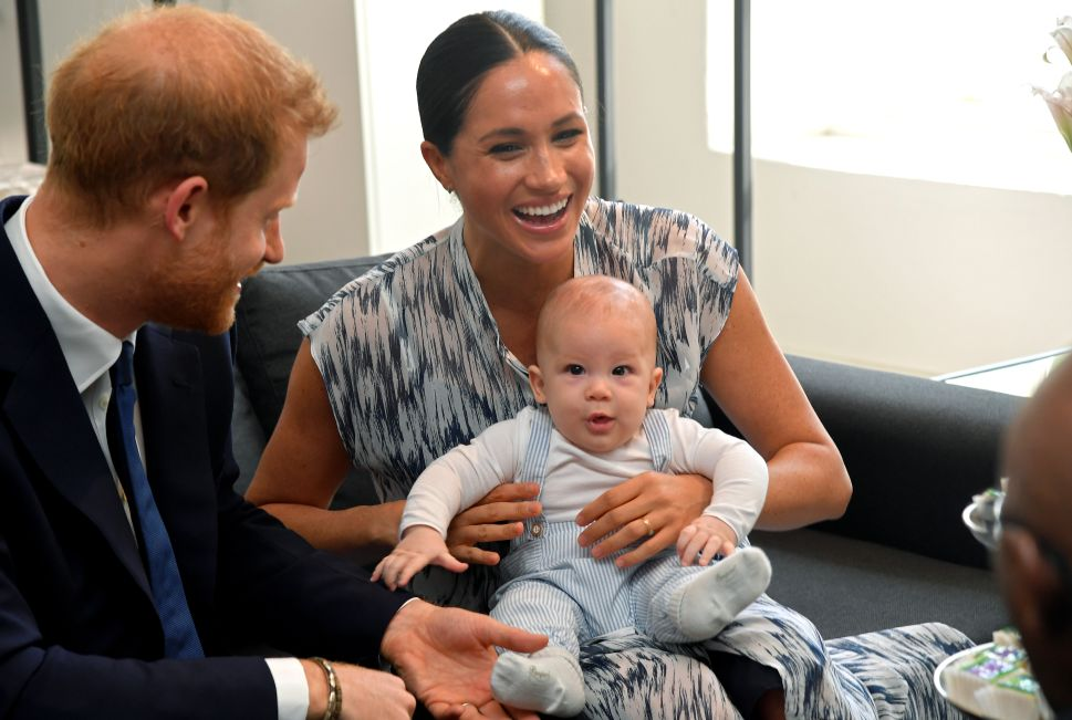 Prince Harry and Meghan Chose the Perfect Setting for Archie's First Royal Tour Appearance