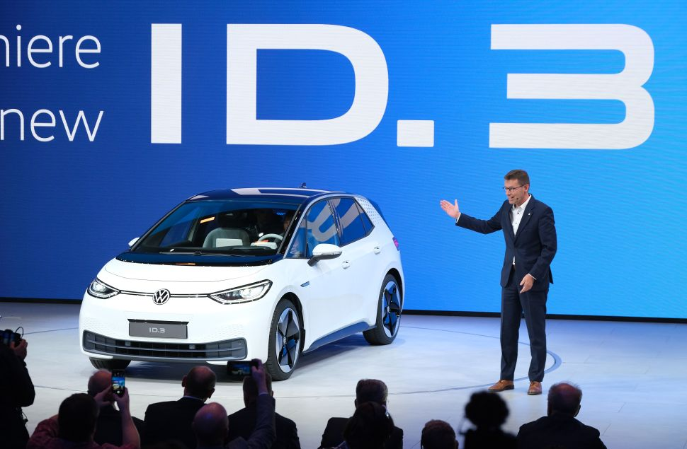 Volkswagen's CEO Has a Plan to Tackle Tesla in Cutthroat EV Race