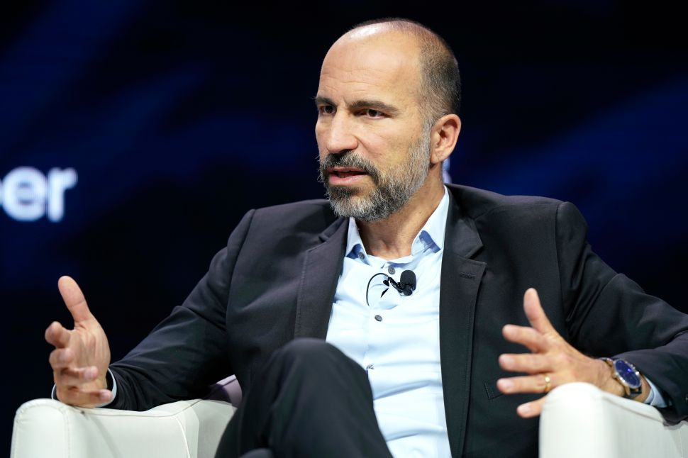Uber CEO Admits Tech Execs Are Overpaid—But He's Not Ready to Fix It