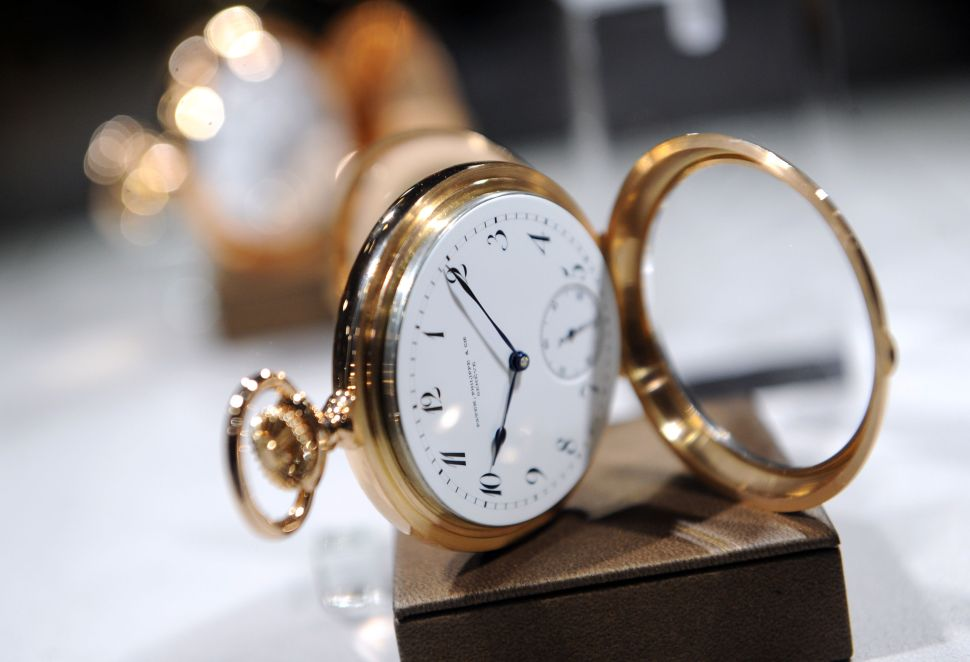 Christie's Patek Philippe Sales Will Test the Waters of the Fluctuating Watch Market