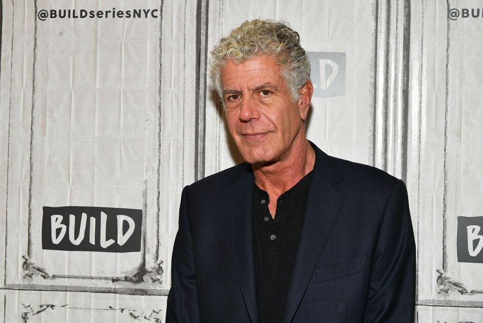 Auction of Anthony Bourdain's Personal Collection Will Include His Art and Writing Desk