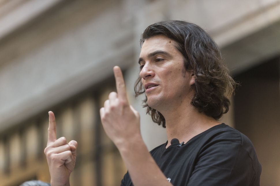 WeWork IPO Update Sees CEO's Power Slashed, Valuation Dropped
