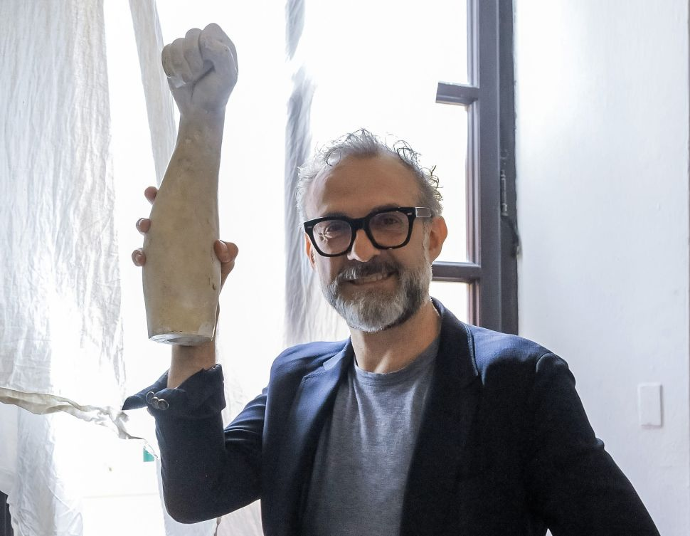 Michelin-Starred Chef Massimo Bottura Reveals His Taste in Art