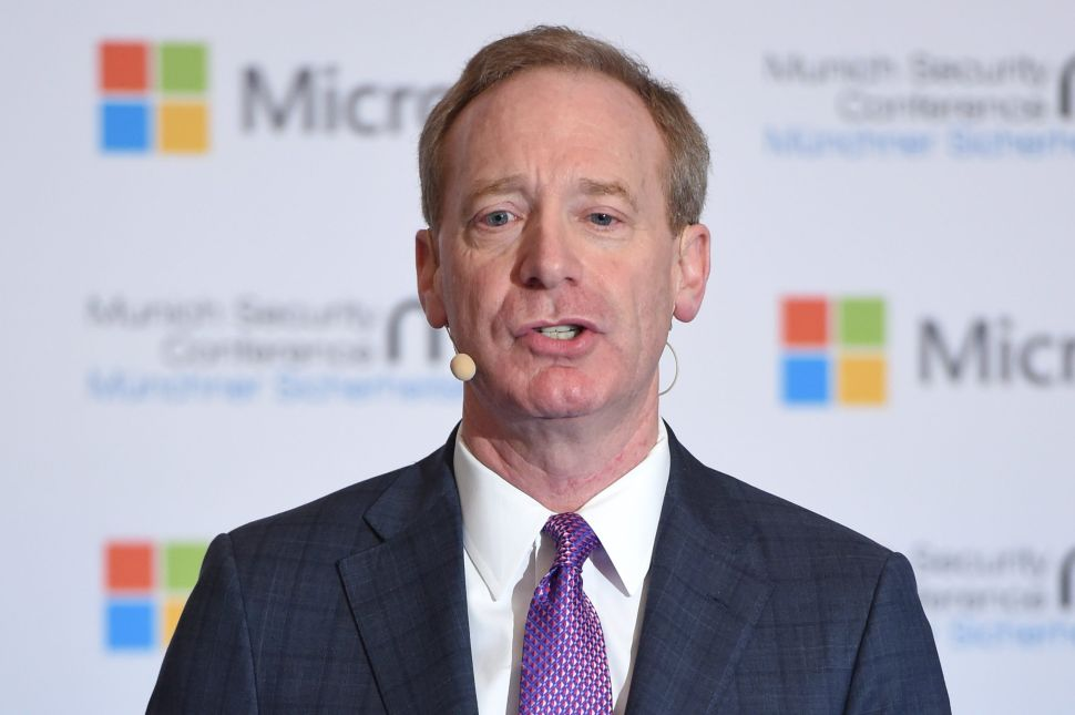Microsoft's President Has a Fix for Tech Giants Embroiled in Controversy