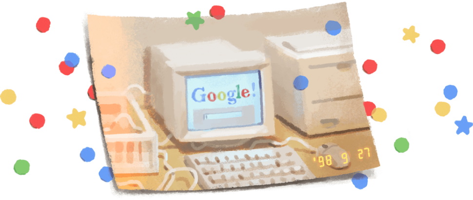 Google Celebrates Its 21st Birthday With a Nostalgic and Subtle Doodle