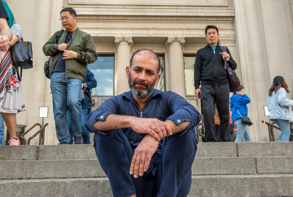 Artist Nikhil Chopra on the Challenge of Living in the Met Museum for 9 Days