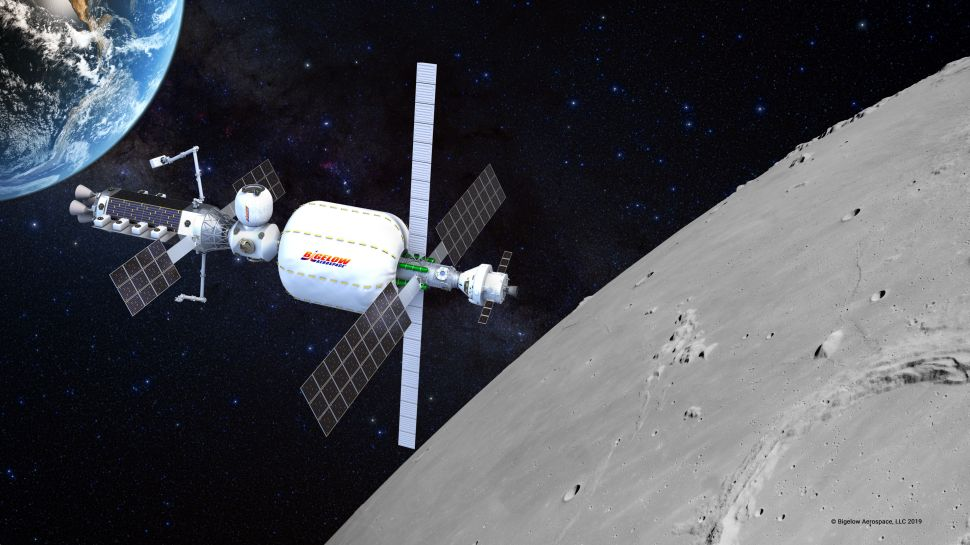 This Inflatable Space Habitat Could House the Next Astronauts to Walk on the Moon