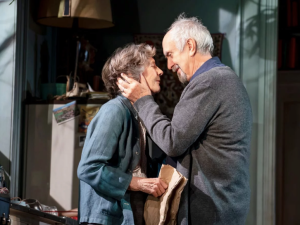 Eileen Atkins and Jonathan Pryce in The Height of the Storm.