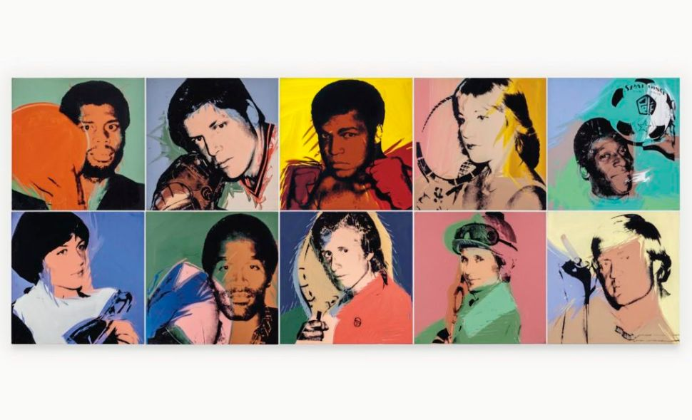 Andy Warhol's 'Athletes' Series Goes Up for Sale for the First Time at Christie's