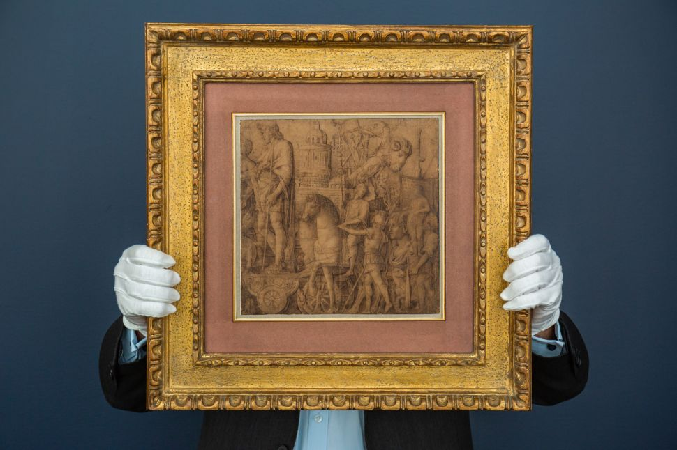 Preparatory Drawing by Renaissance Master Andrea Mantegna Expected to Sell for $12M