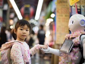robot childcare
