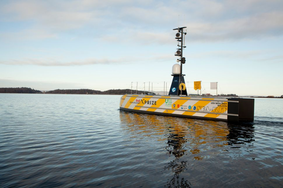 This Robot Ship Aims to Cross the Atlantic Ocean… Without Humans
