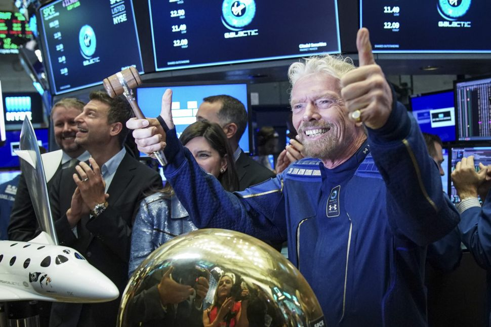 Virgin Galactic Is Officially the First Space Tourism Company on the NYSE