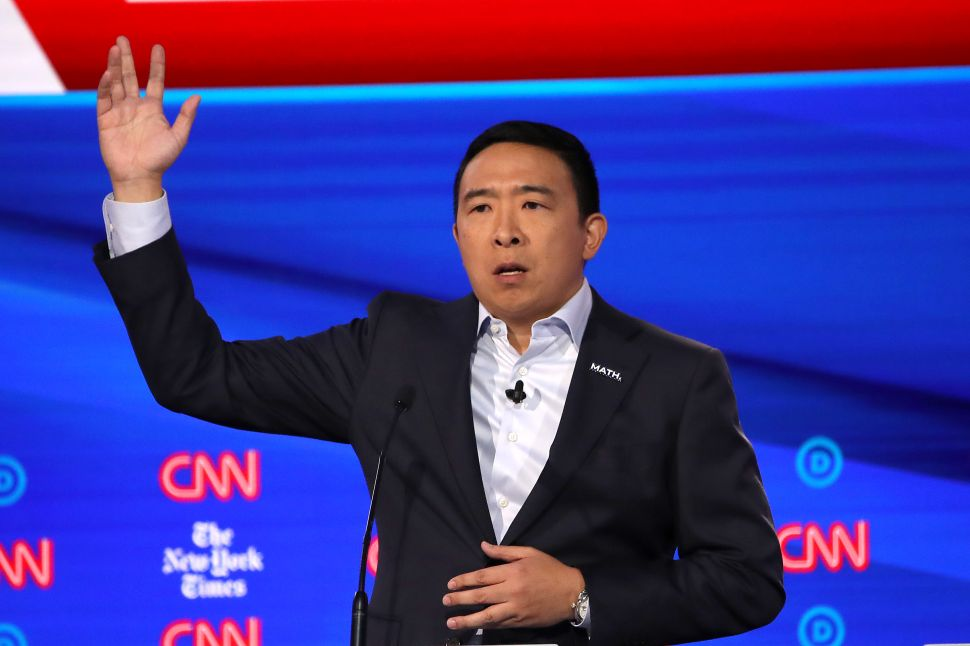 Microsoft Reacts to Andrew Yang Dissing Bing at Dem Debate: Wanna Redo Math in Excel?
