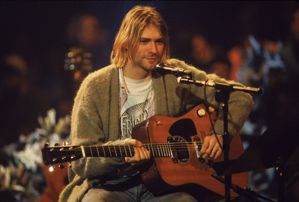 Kurt Cobain's MTV 'Unplugged' Cardigan Will Go Up for Auction