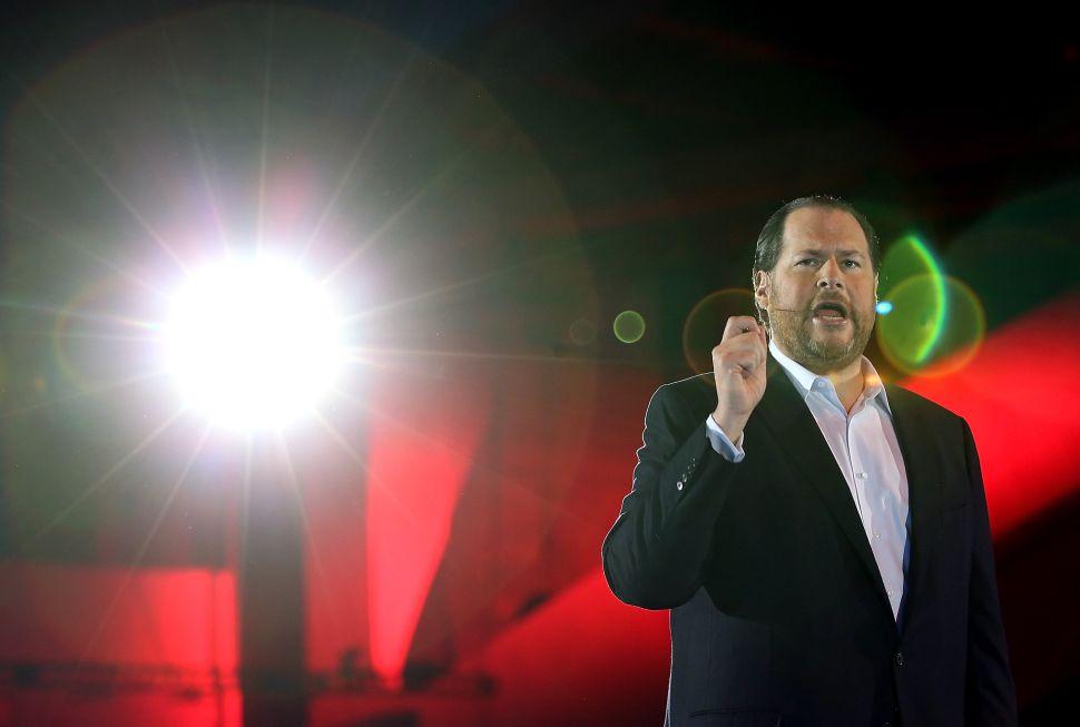 Salesforce CEO Marc Benioff: Facebook Is Built on Lies, Break It Up