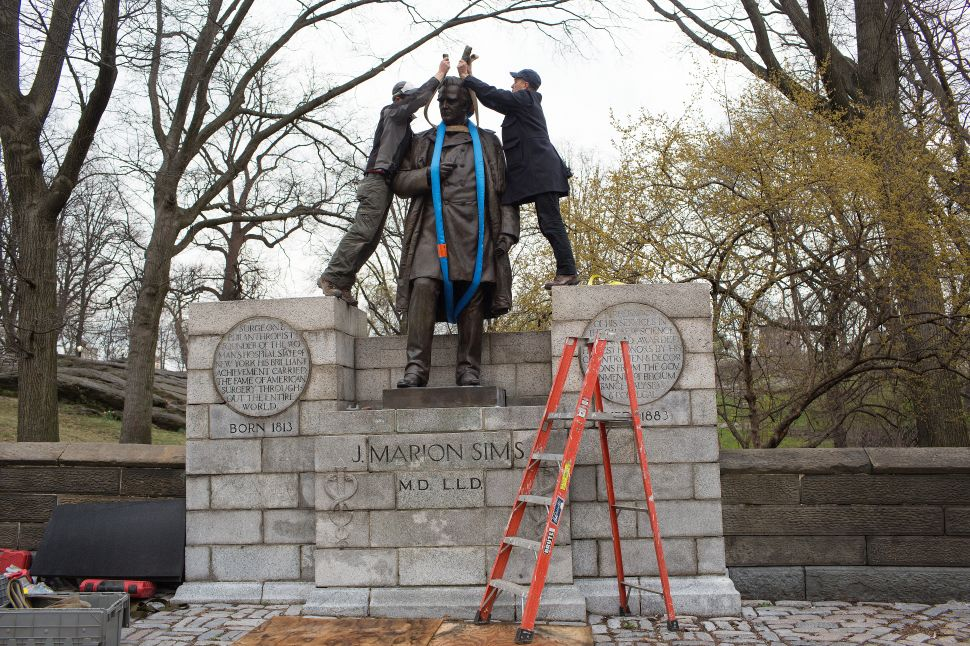 Replacement of Monument Dedicated to J. Marion Sims Sparks Community Outcry