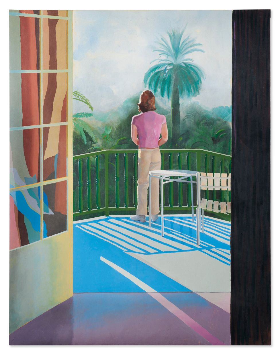 Could David Hockney's 'Sur la Terrasse' Exceed Its $45M High Estimate at Christie's?