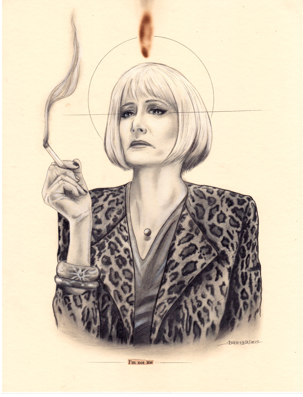 An Exhibition of 'Twin Peaks'-Themed Art Is Being Sold for a Good Cause