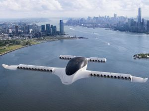 Lilium's all-electric, jet-powered vertical takeoff and landing air taxi was first revealed back in 2017.