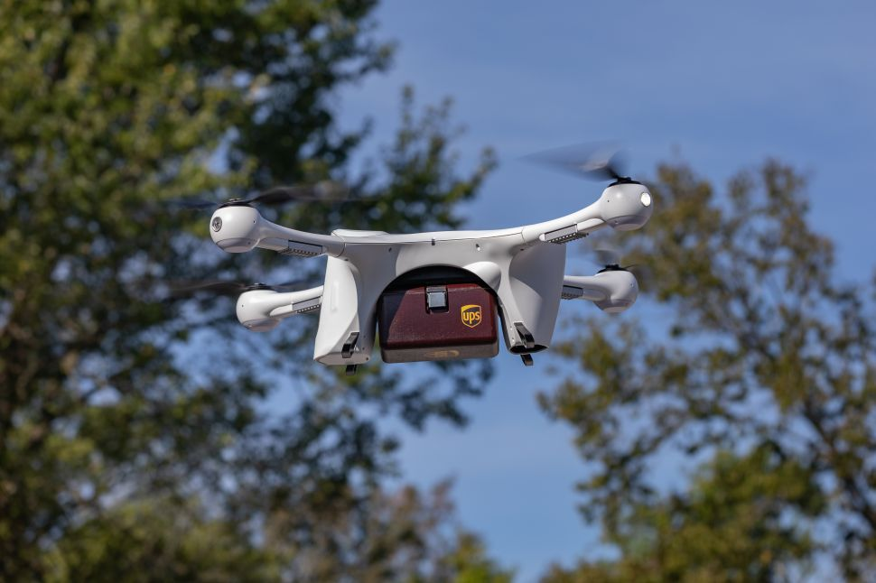 UPS Scores Rare 'Drone Airline' License From FAA to Deploy Nationwide