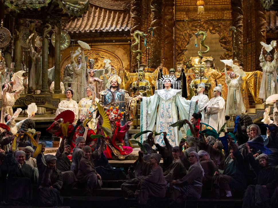 Not Quite Gold, but 'Turandot' Still Glitters as the Met's First Sunday Matinee
