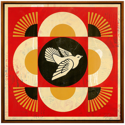 'Art for Tibet' Auction Expands Into an Exhibition, With Work by Shepard Fairey