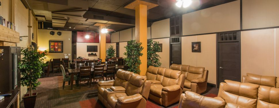 Vivos Indiana Main Living Room Nuclear Bomb Shelter