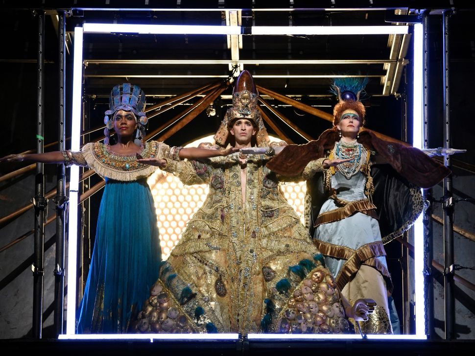 Philip Glass' 'Akhnaten' Is a Somber Triumph for the Met