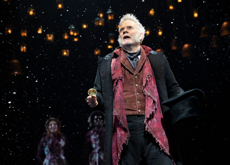 A Grim 'Christmas Carol' Won't Let You Forget Its Social Justice Message
