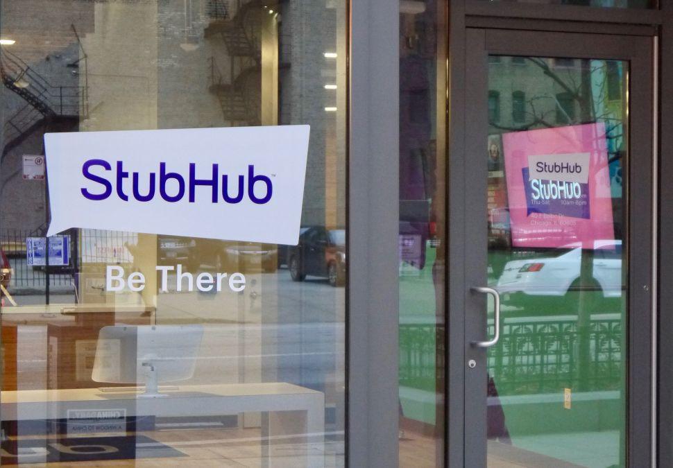 Struggling Parent Company eBay Sells StubHub in $4 Billion Cash Deal