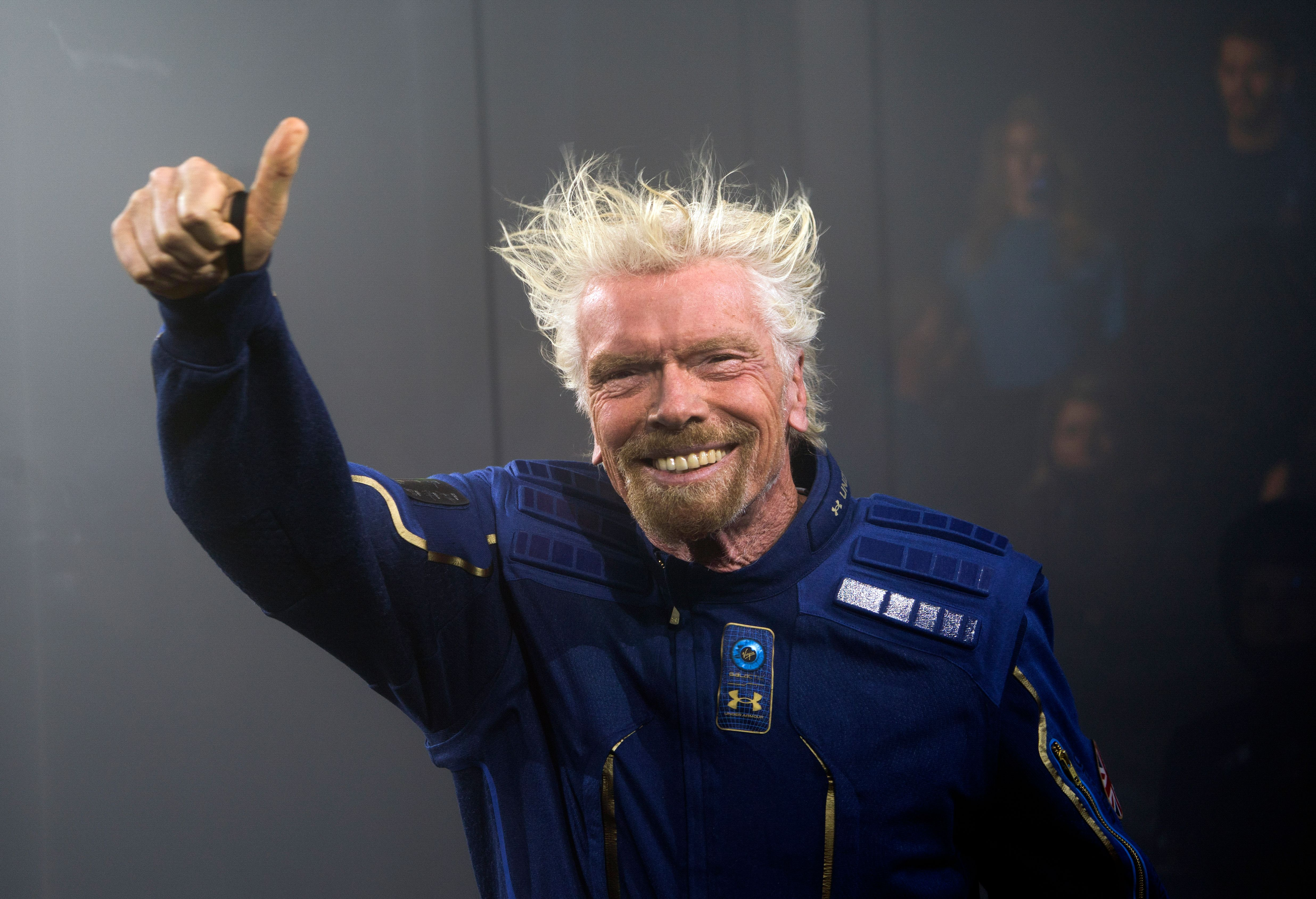 Virgin Galactic's Top Priority Is to Fly Richard Branson to Space by His 70th Birthday