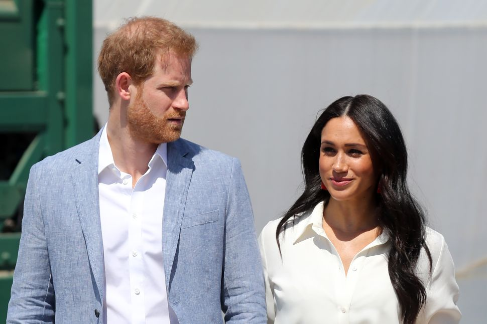 Prince Harry and Meghan Markle Aren't Celebrating Christmas with the Royals This Year