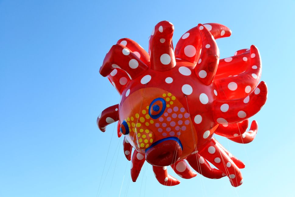 Yayoi Kusama's Balloon Will Be the Star of This Year's Macy's Thanksgiving Day Parade
