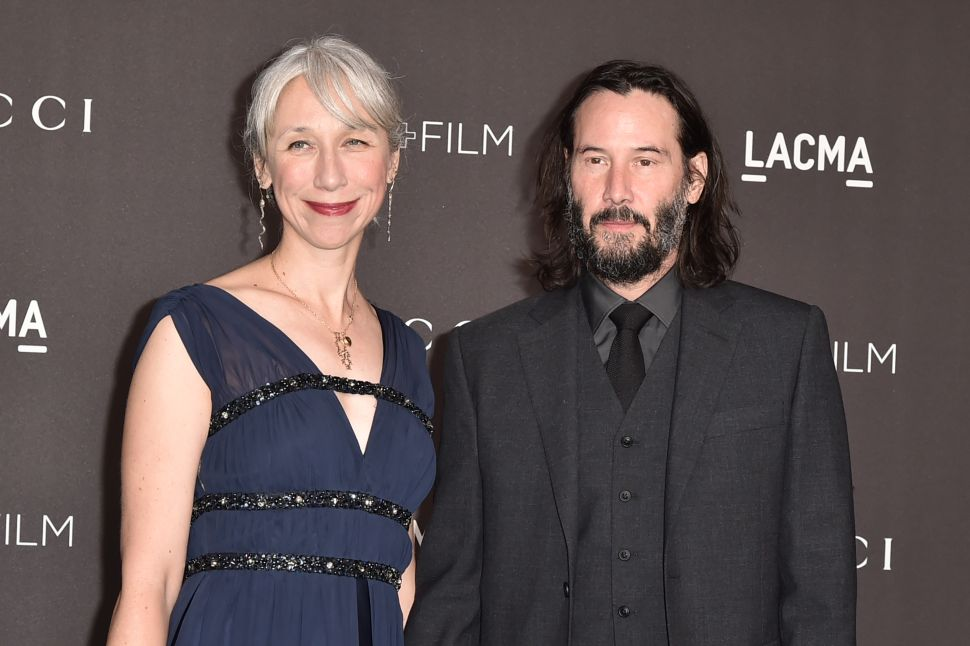 Keanu Reeves Is the Latest Celebrity to Date an Artist: LA-Based Alexandra Grant