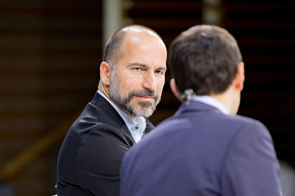 CEO Dara Khosrowshahi Explains Uber's Epic Stock Crash This Week