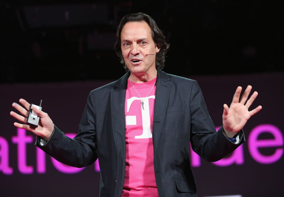 WeWork Wants to Replace Adam Neumann With Eccentric T-Mobile CEO John Legere