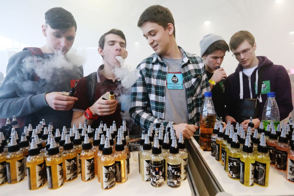 Despite Vape 'Epidemic' Hysteria, Data Shows Teen Nicotine Use Is Down