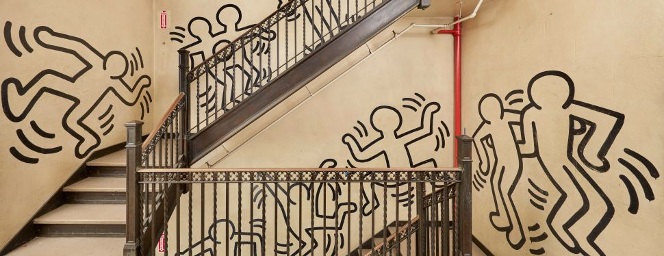 Keith Haring's Church Mural Has Been Removed From Its Site and Sold at Auction