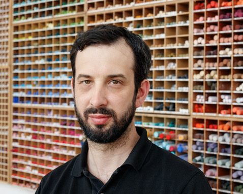 Nicolas Party Is Painting Pastels on Everything From Museum Walls to Hospital Halls