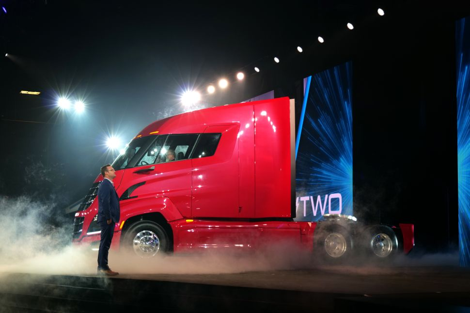 How Nikola, Tesla's Hydrogen Car Cousin, Doubled Its Market Value in One Day