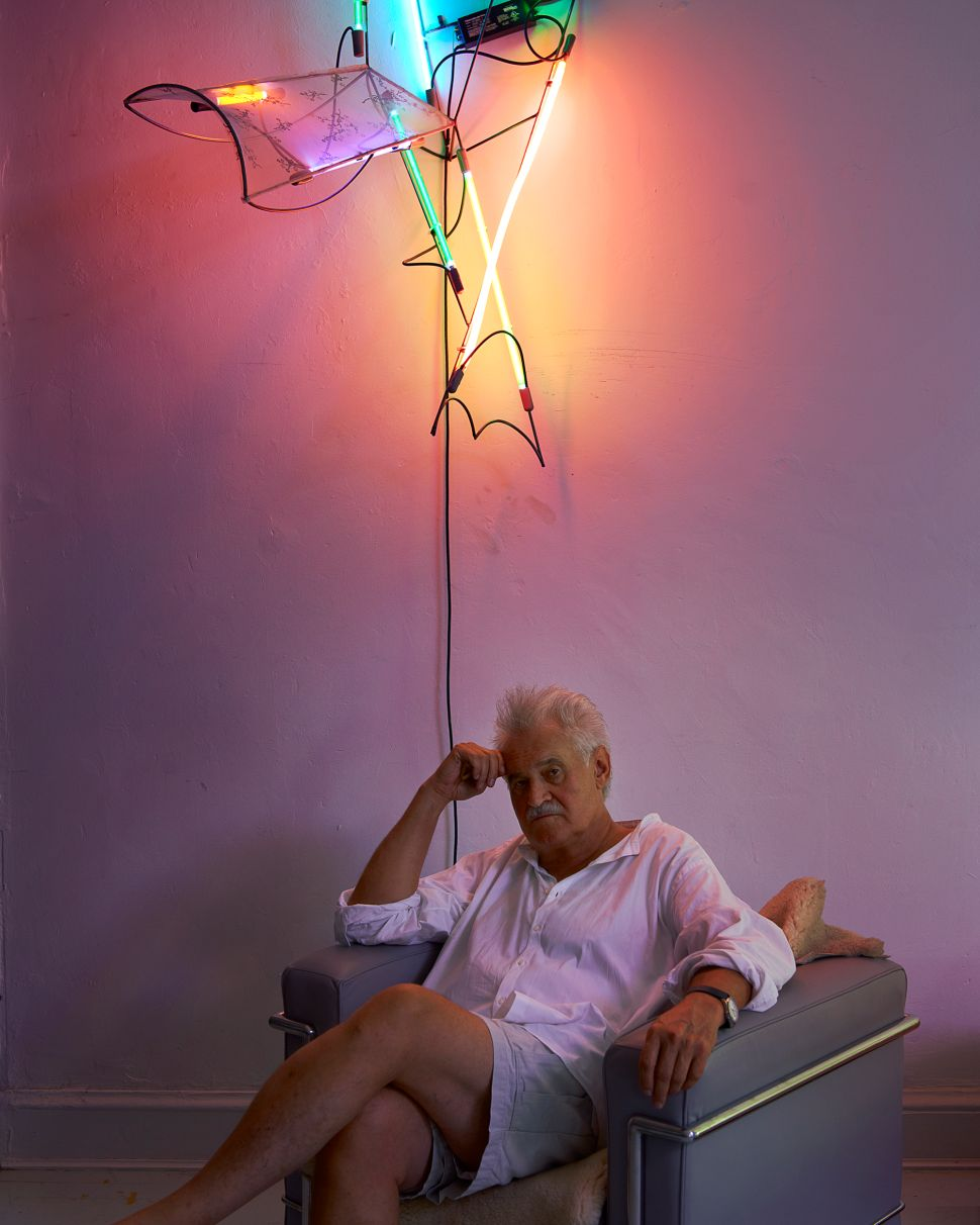 Sketches Keith Sonnier Made 50 Years Ago Have Been Brought to Life in Neon Sculptures