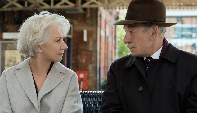 Helen Mirren and Ian McKellen in The Good Liar.